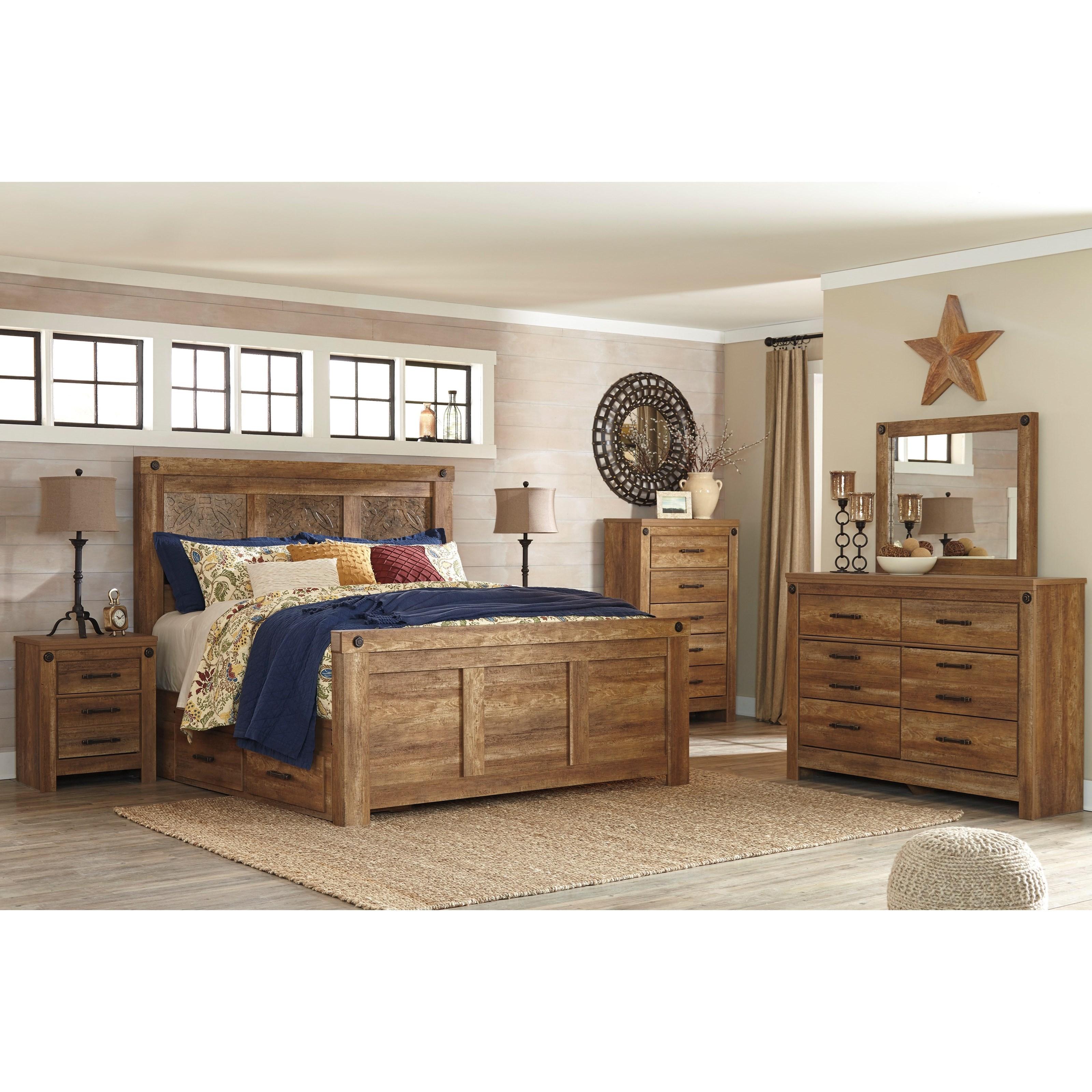 Signature Design by Ashley Ladimier King Bedroom Group - Item Number: B399 K Bedroom Group 2
