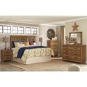 Signature Design by Ashley Ladimier King Bedroom Group - Item Number: B399 K Bedroom Group 3