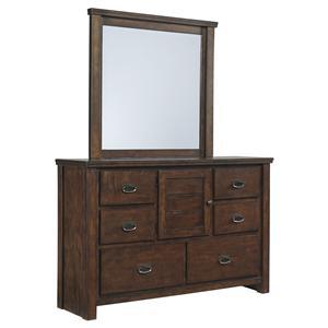 Benchcraft Ladiville Bedroom Dresser & Mirror