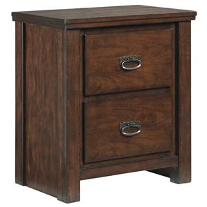 Signature Design by Ashley Ladiville Two Drawer Night Stand