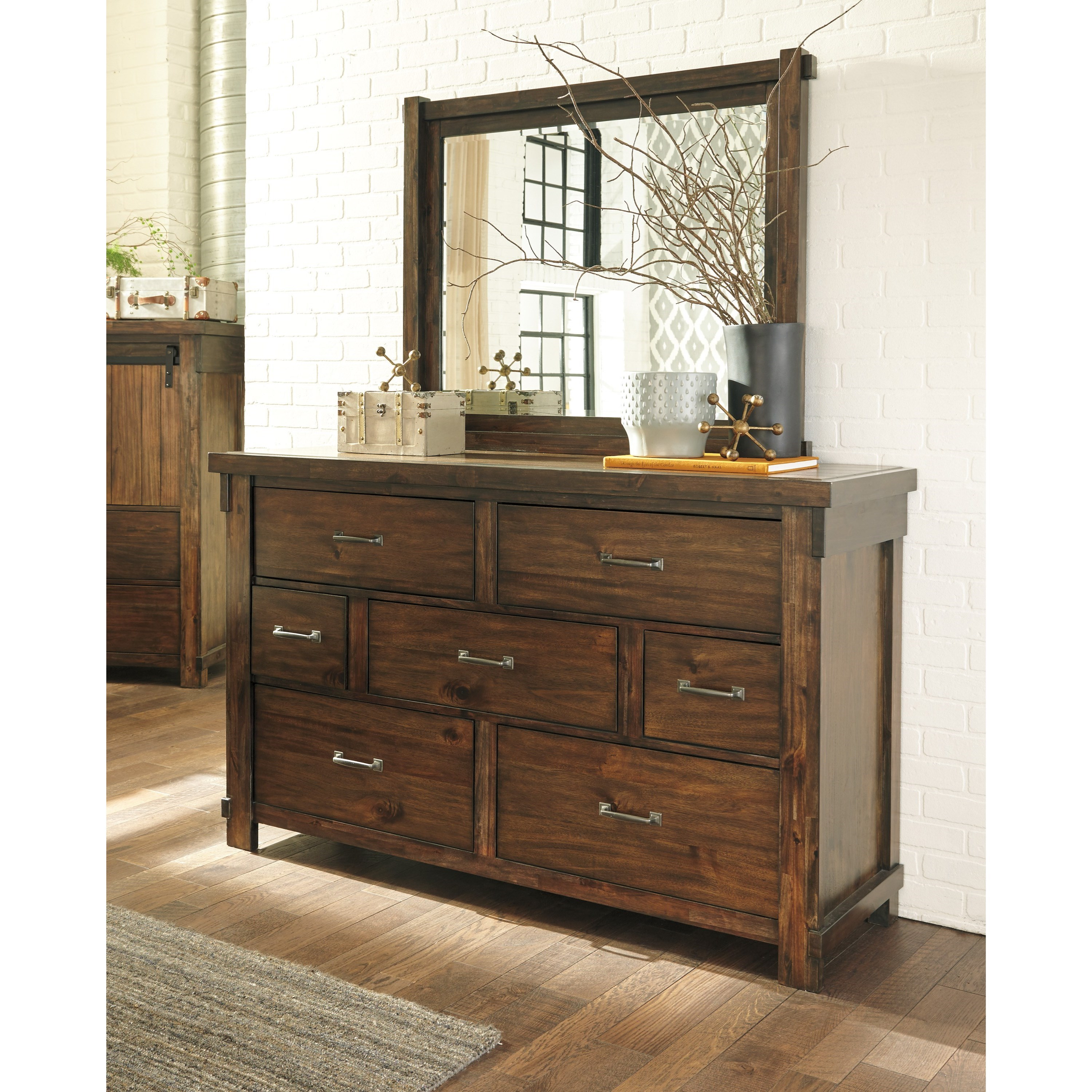 Signature Design By Ashley Lakeleigh B718 31 Dresser With 7 Drawers Becker Furniture World