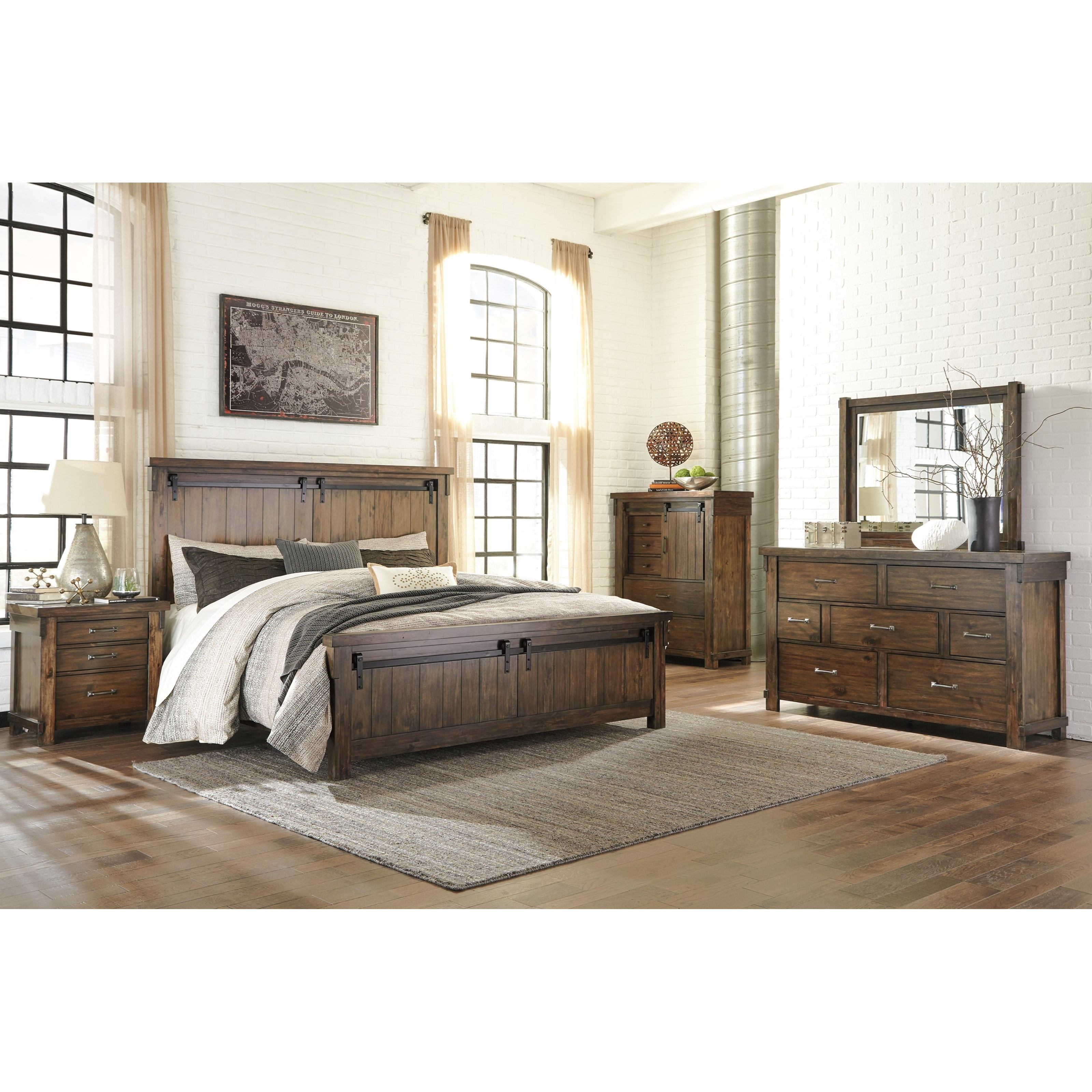 Signature Design By Ashley Lakeleigh King Panel Bed With