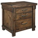 Signature Design by Ashley Lakeleigh Three Drawer Night Stand - Item Number: B718-93