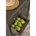 Signature Design by Ashley Lamoille Contemporary Dining Room Server with 3 Drawers and 4 Tip-Out Bins