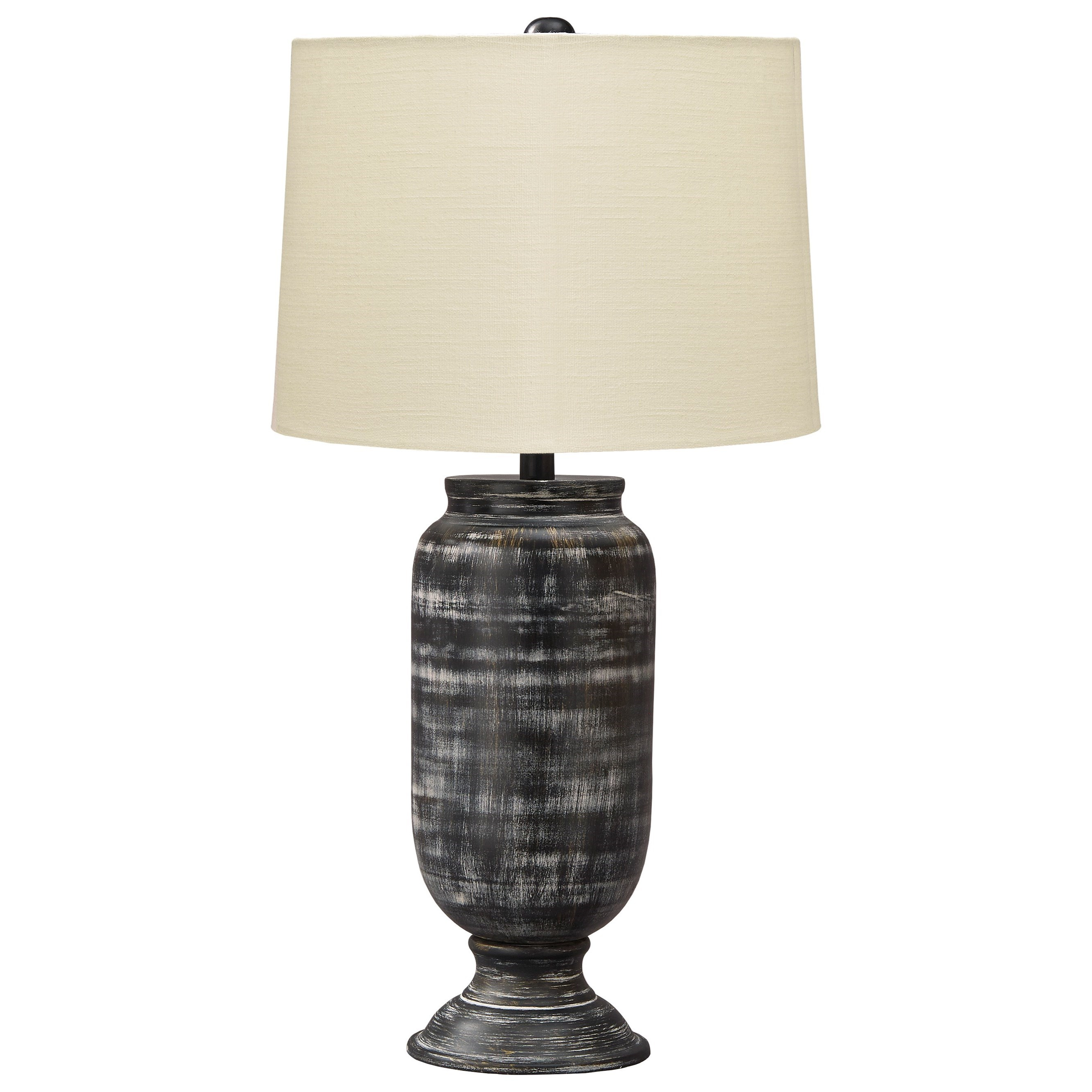 Lamps - Casual Mandelina Black Metal Table Lamp by Ashley (Signature Design) at Johnny Janosik