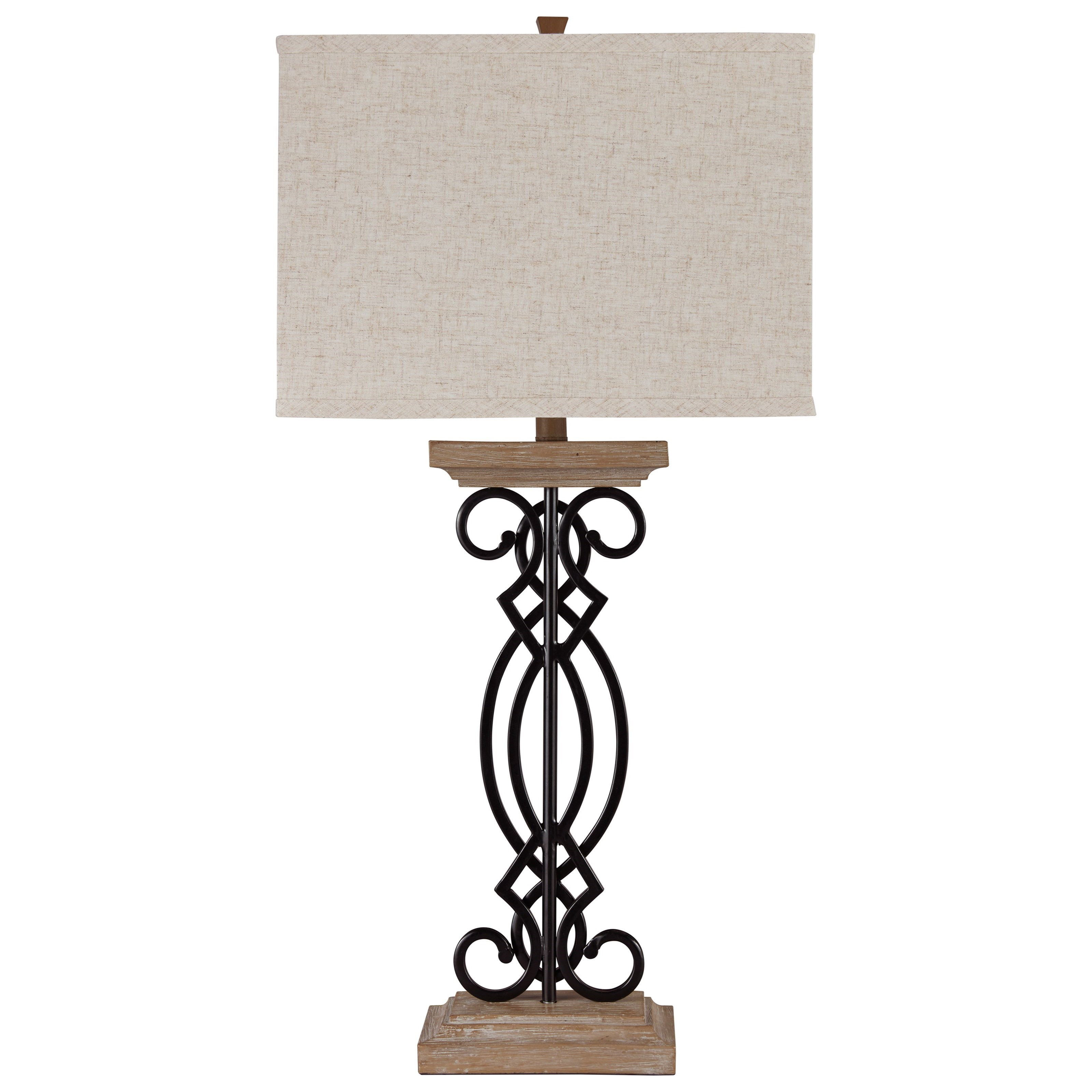 Set of 2 Edalene Metal Table Lamps