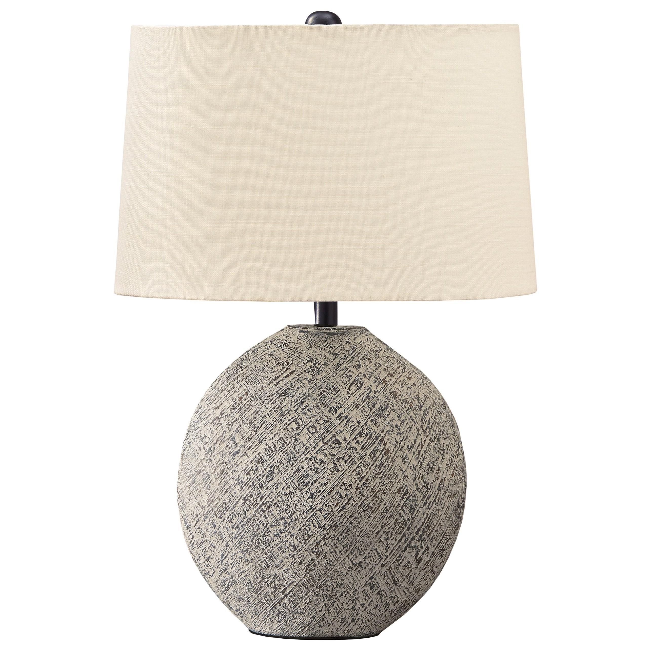 Harif Beige Table Lamp