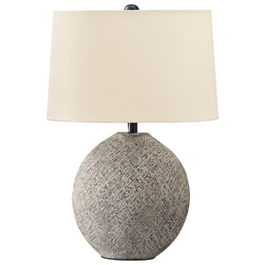 Harif Beige Table Lamp