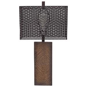Briek Brown Paper Table Lamp