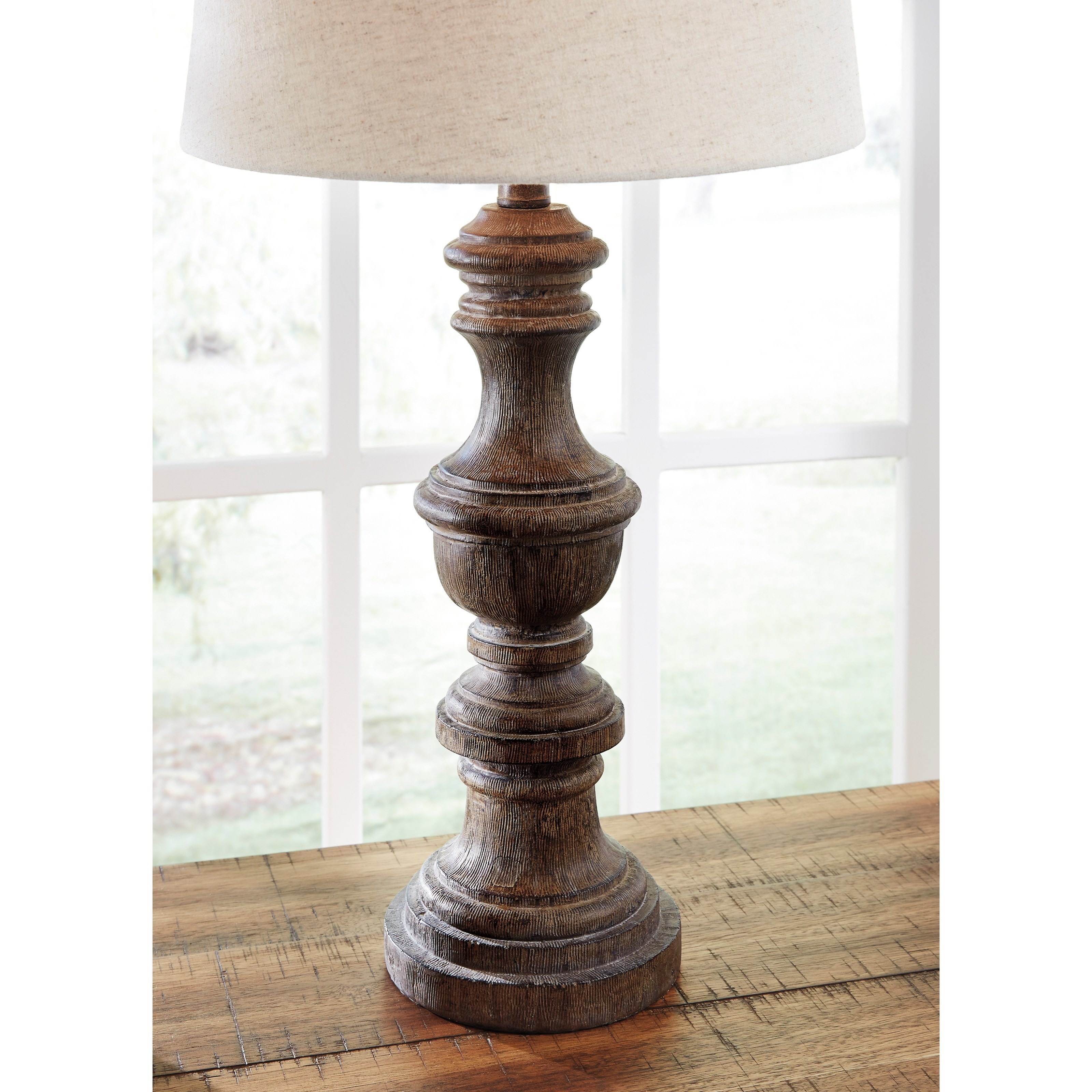Signature Design By Ashley Lamps Casual L276024 Set Of 2