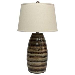 Ashley Signature Design Lamps - Contemporary Darlon Ceramic Table Lamp