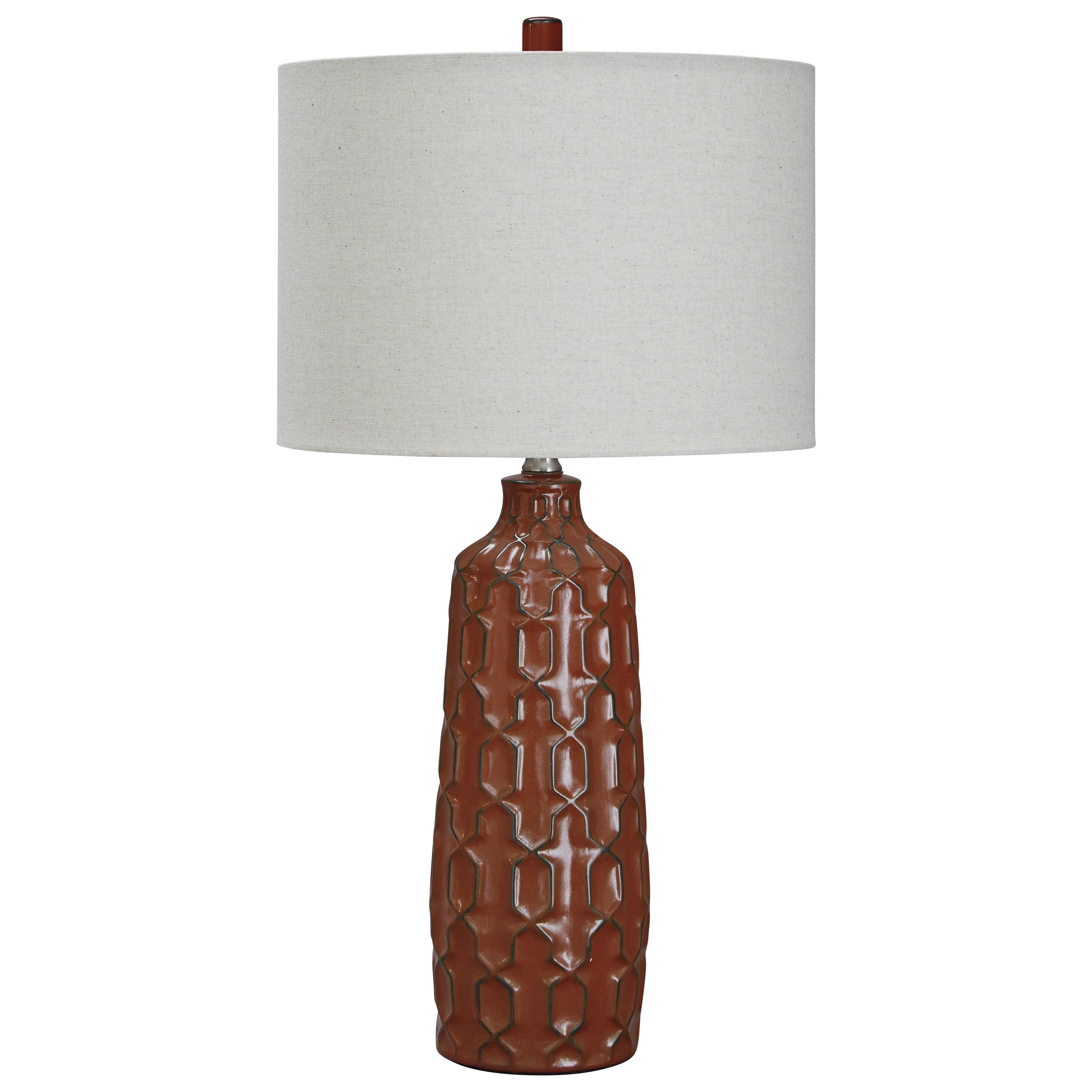 Set of 2 Mab Ceramic Table Lamps