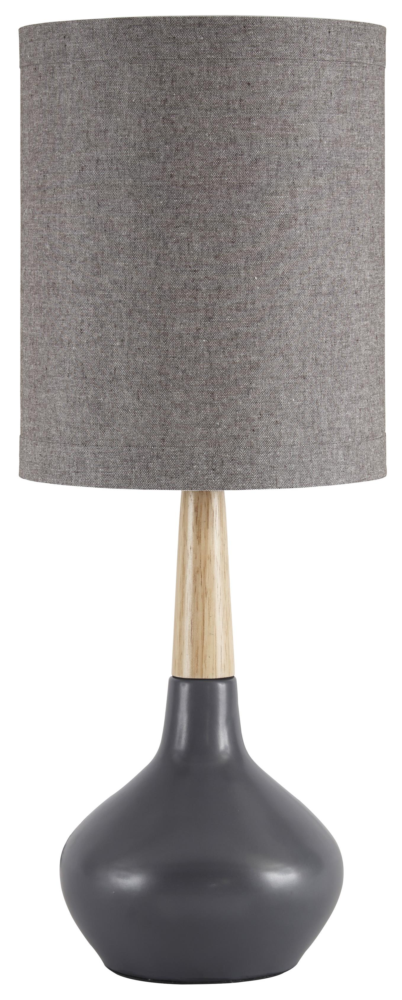 Signature Design by Ashley Lamps - Contemporary Set of 2 Stacia Ceramic Table Lamps - Item Number: L117934