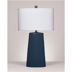Signature Design by Ashley Furniture Lamps - Contemporary Resda Ceramic Table Lamp