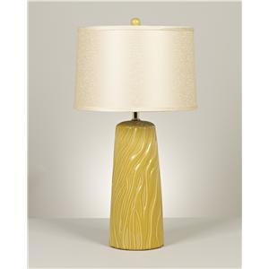 Signature Design by Ashley Lamps - Contemporary Set of 2 Shea Ceramic Table Lamps
