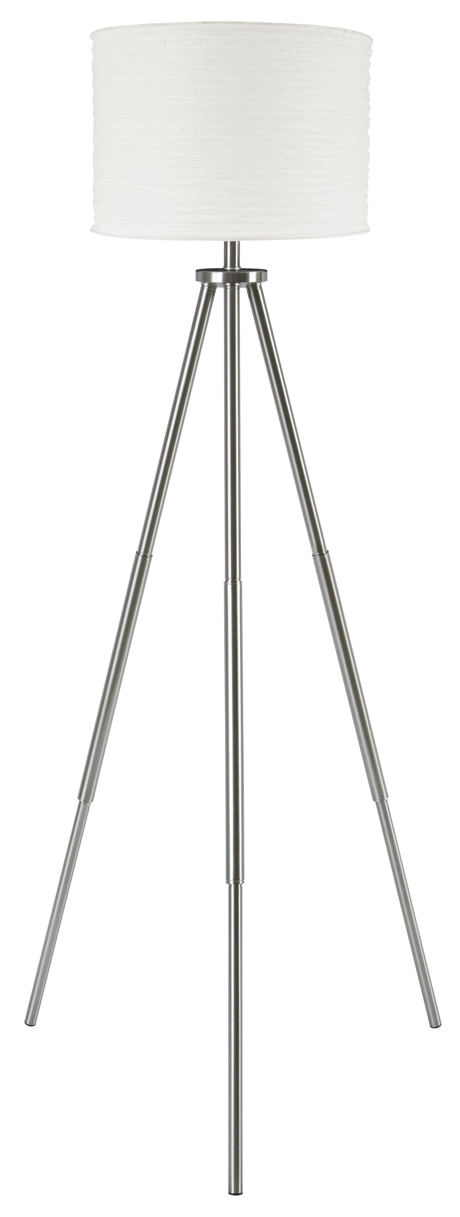 Signature Design by Ashley Lamps - Contemporary Susette Metal Floor Lamp - Item Number: L204141