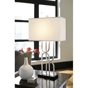 Signature Design by Ashley Lamps - Contemporary Darielle Table Lamp