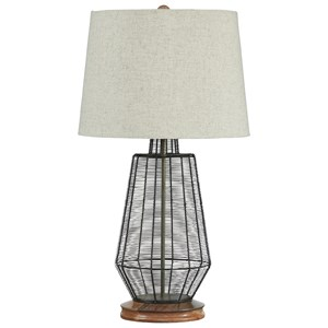 Ashley Signature Design Lamps - Contemporary Artie Metal Table Lamp
