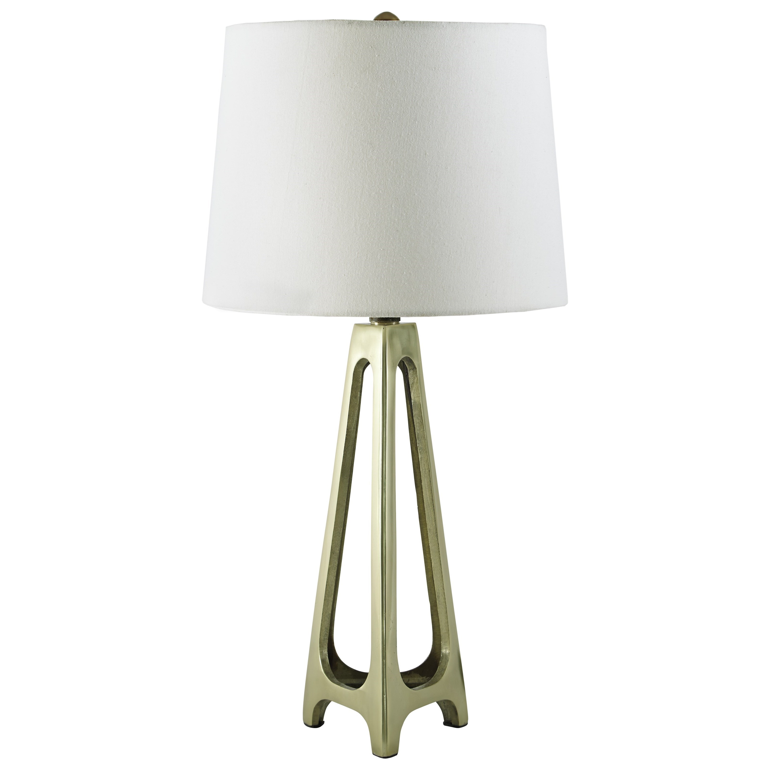 Signature Design by Ashley Lamps - Contemporary Set of 2 Howard Metal Table Lamps - Item Number: L207274