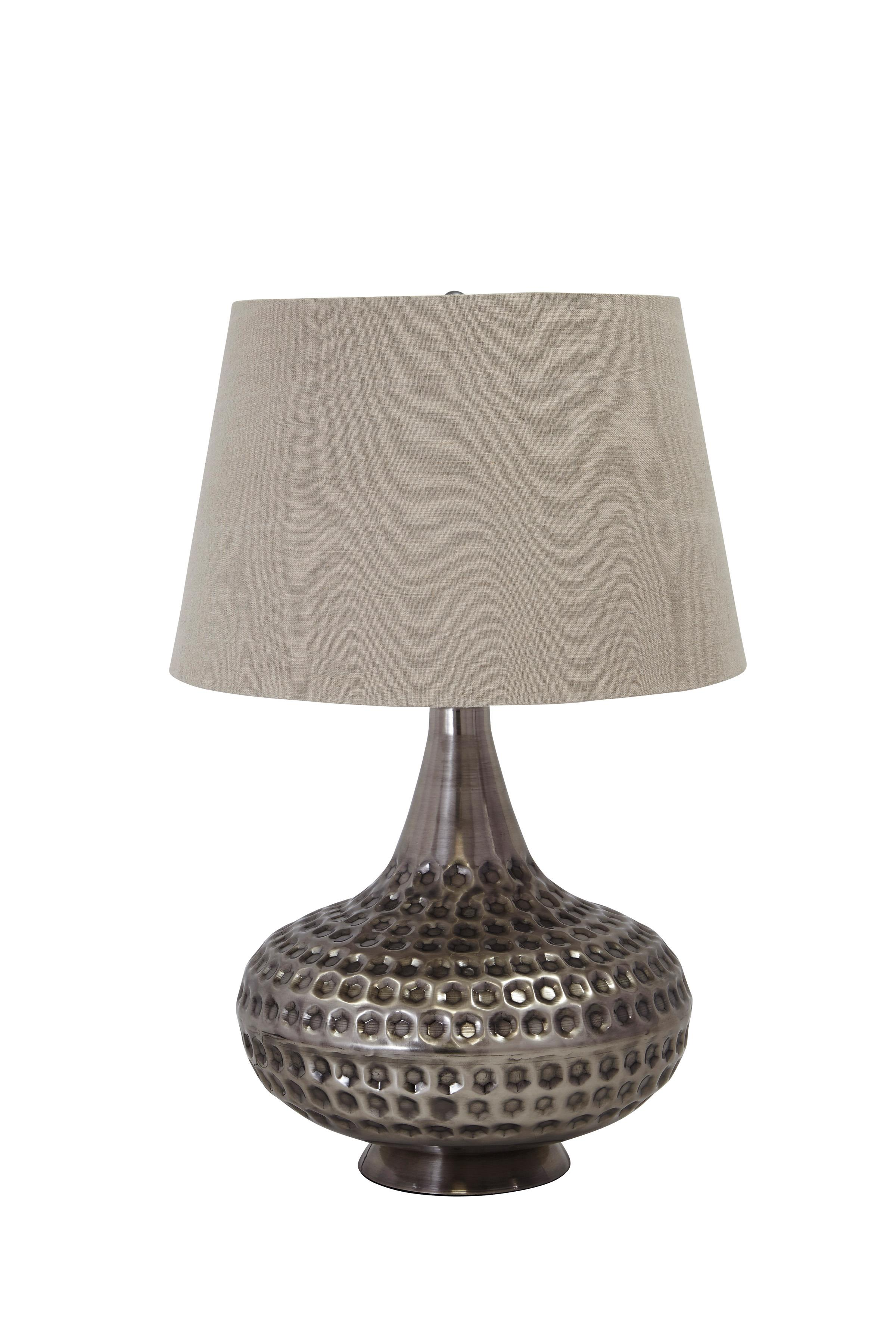 Signature Design by Ashley Lamps - Contemporary Sarely Metal Table Lamp - Item Number: L207844