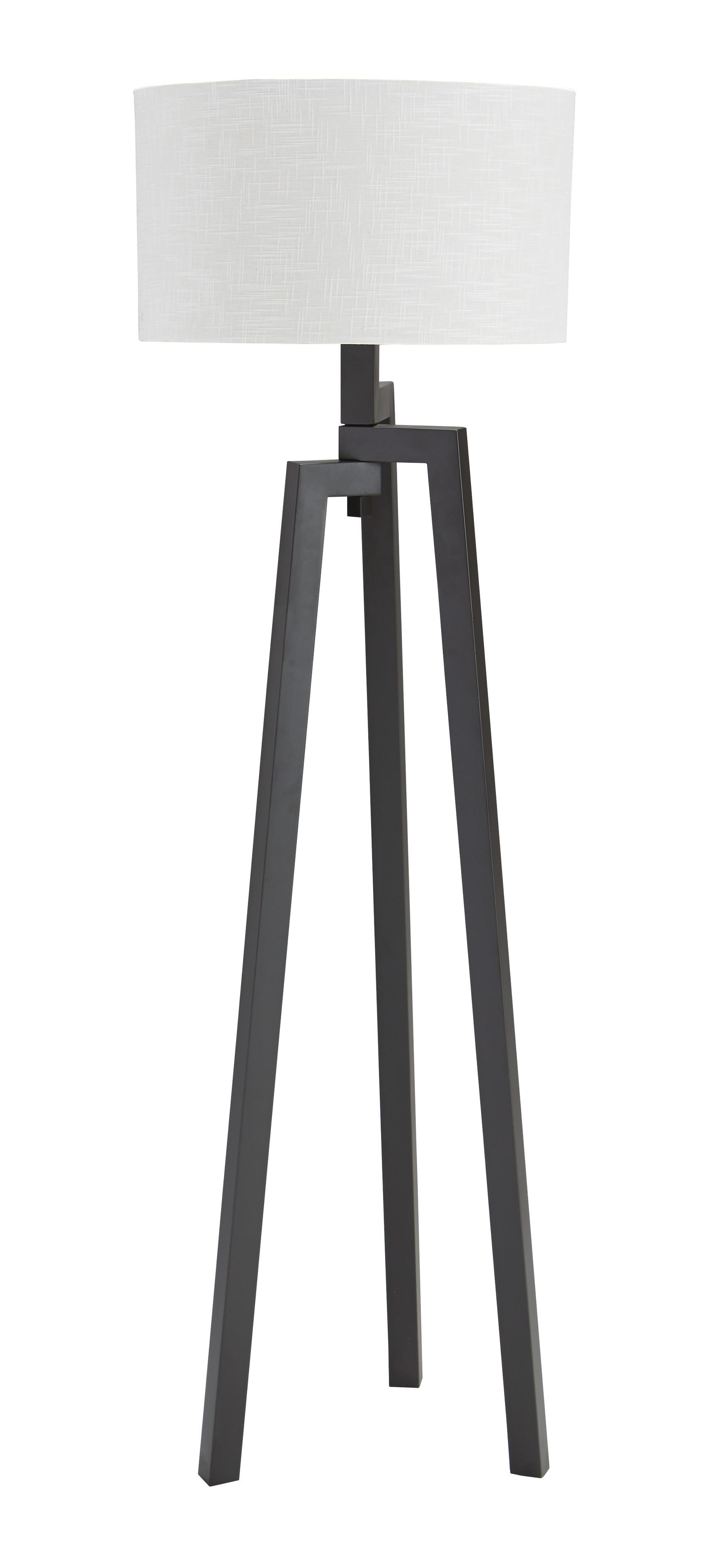 Signature Design by Ashley Lamps - Contemporary Metal Floor Lamp  - Item Number: L207951