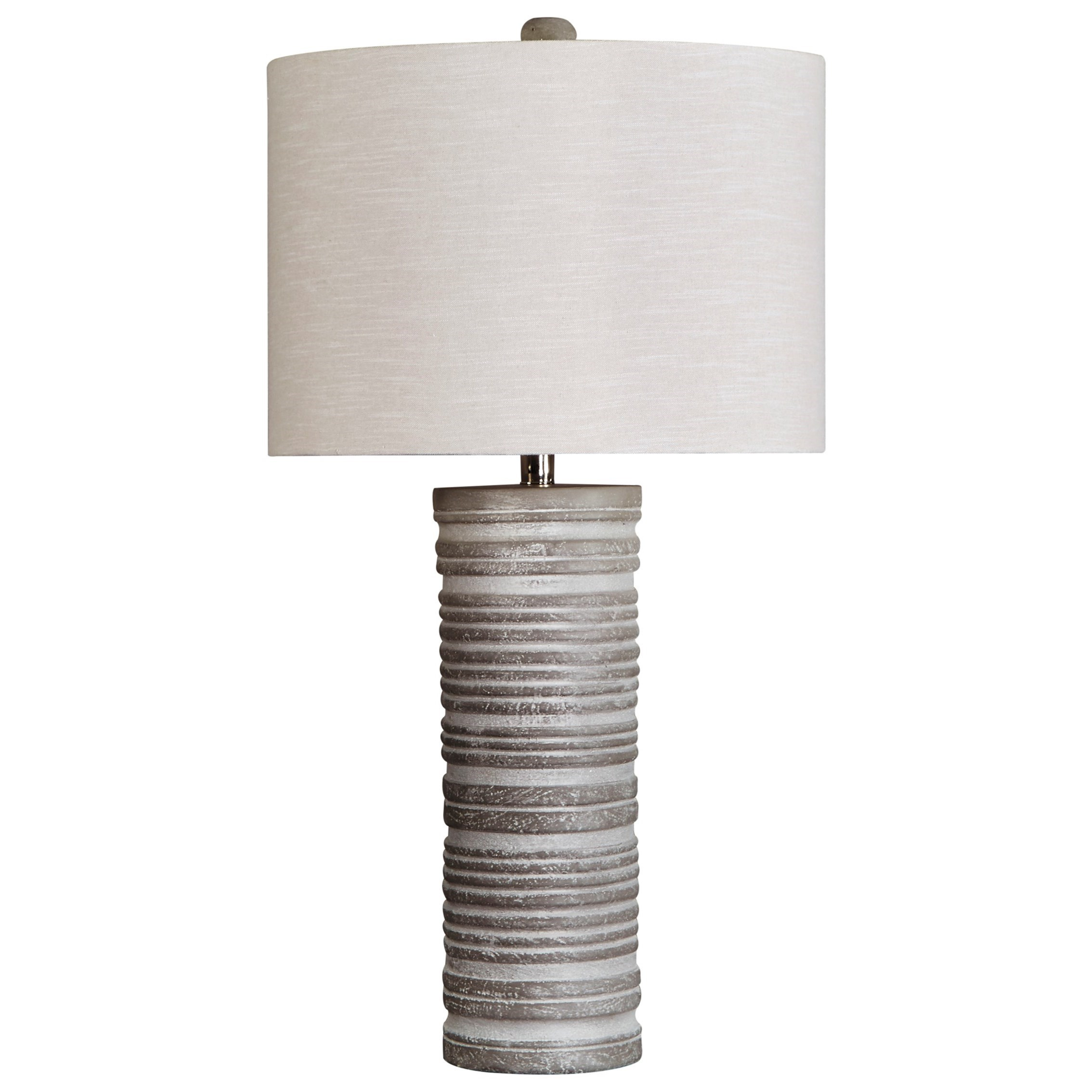 Set of 2 Nadyia Gray Table Lamps