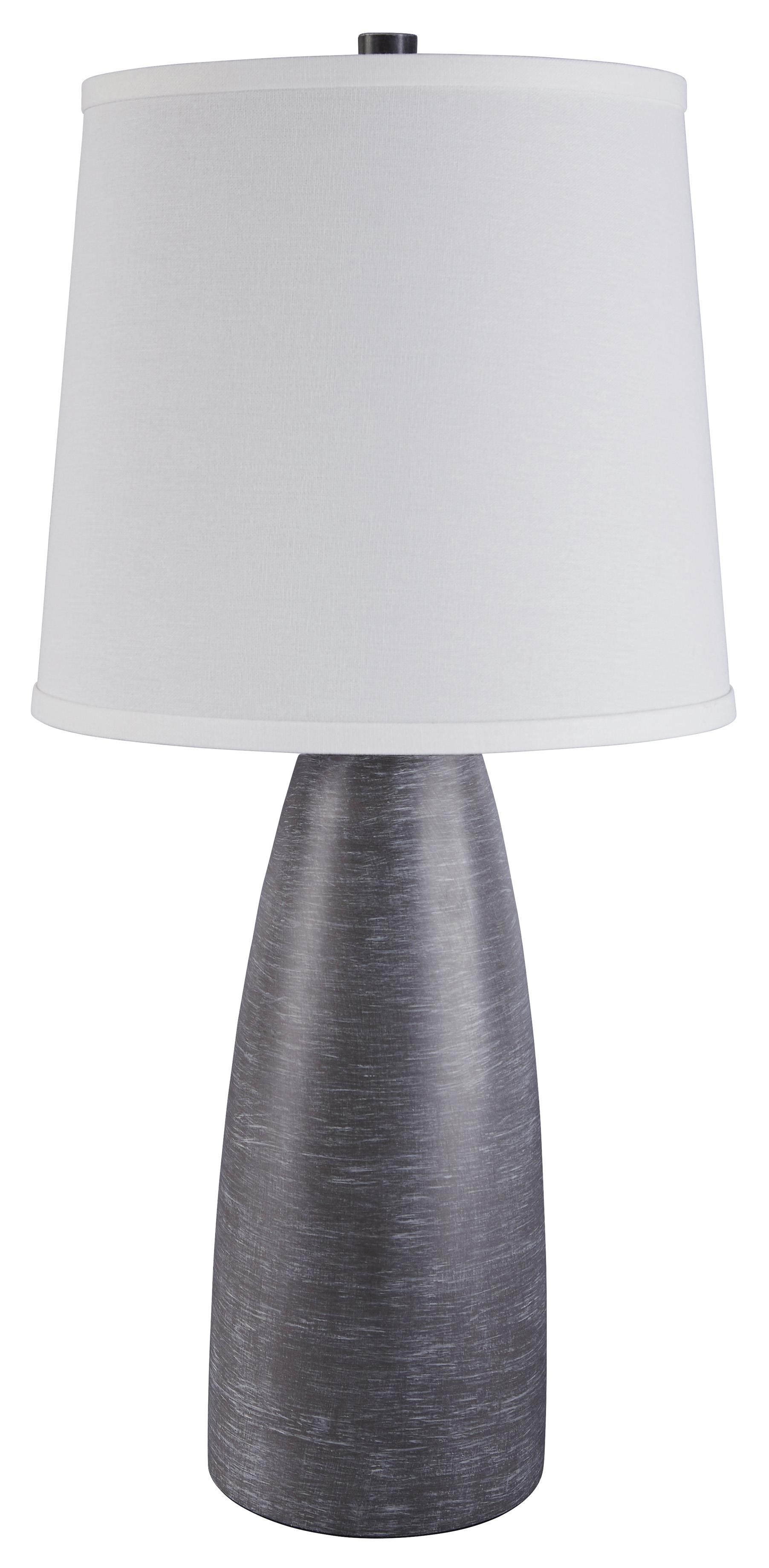Signature Design by Ashley Lamps - Contemporary Set of 2 Shavontae Poly Table Lamps - Item Number: L243004