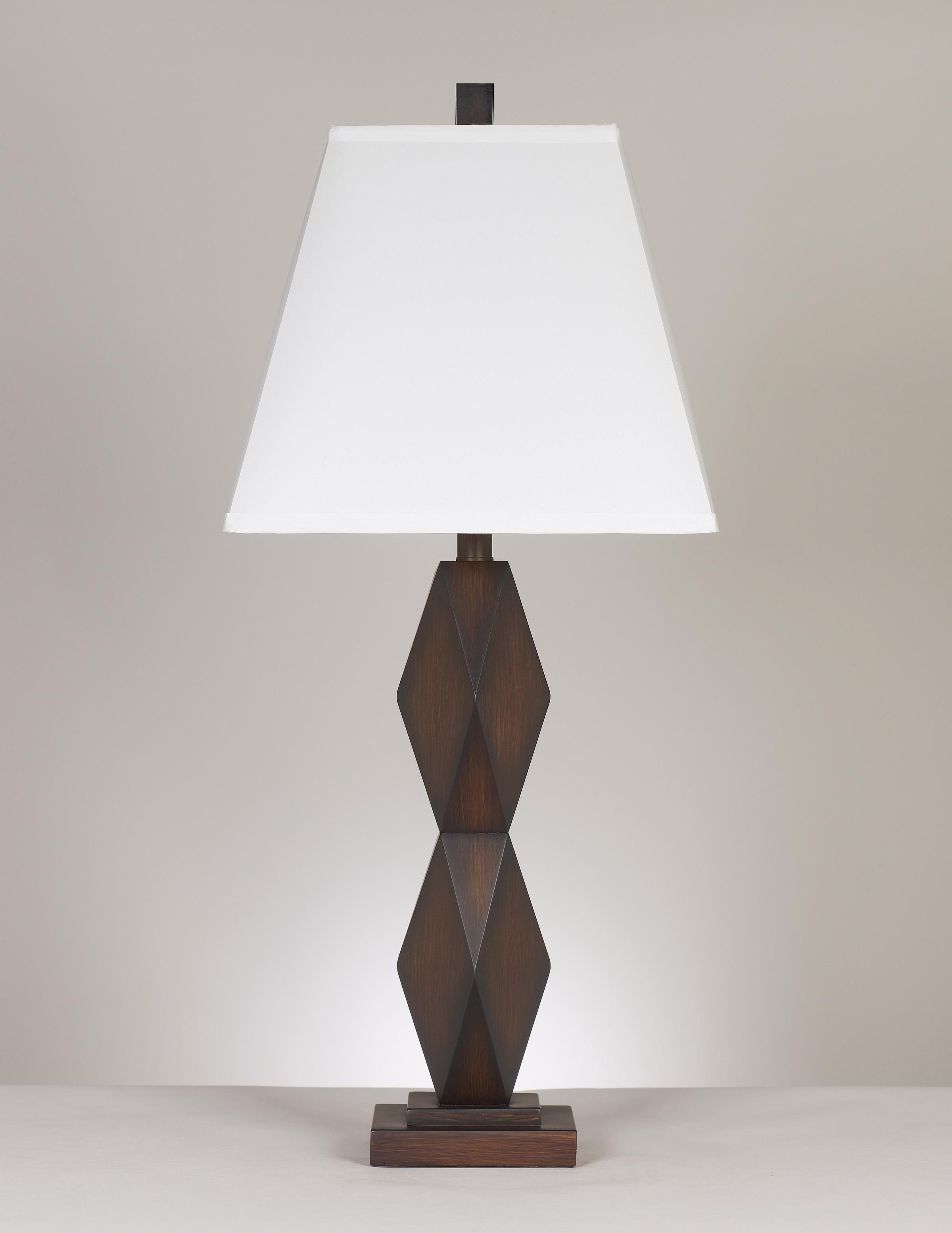 Signature Design by Ashley Lamps - Contemporary Set of 2 Natane Table Lamps - Item Number: L292154