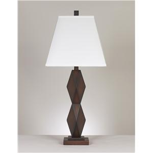 Signature Design by Ashley Lamps - Contemporary Set of 2 Natane Table Lamps