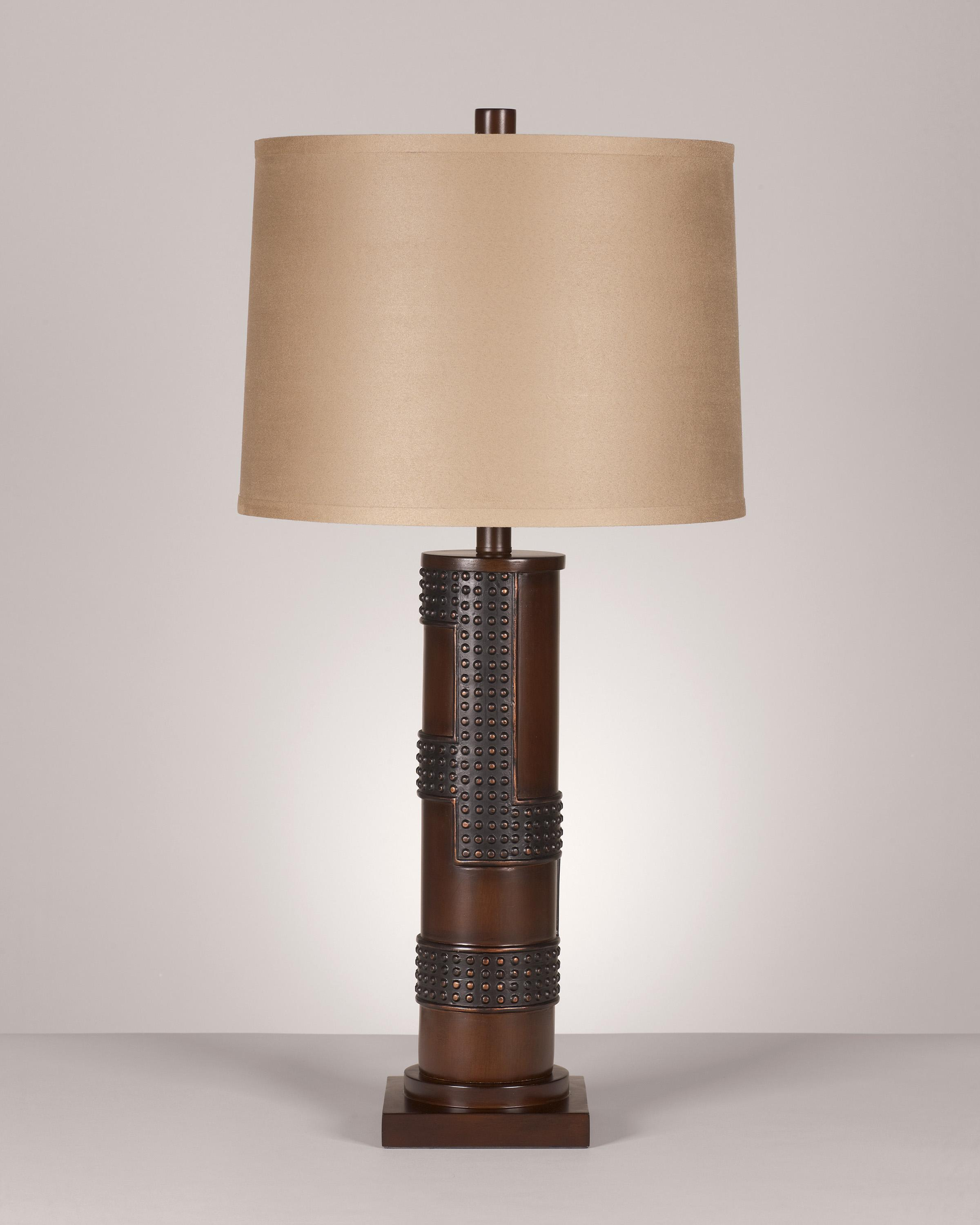 Signature Design by Ashley Lamps - Contemporary Set of 2 Oriel Poly Table Lamps - Item Number: L311154
