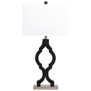 Set of 2 Rosetta Poly Table Lamps
