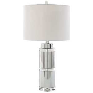 Set of 2 Makram Metal Table Lamps