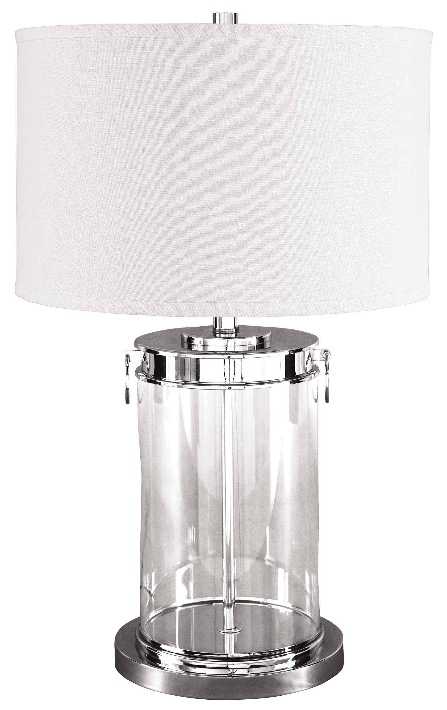Signature Design by Ashley Lamps - Contemporary Tailynn Glass Table Lamp - Item Number: L430244