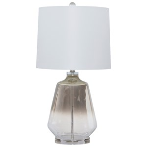 Trendz Lamps - Contemporary Jaslyn Glass Table Lamp