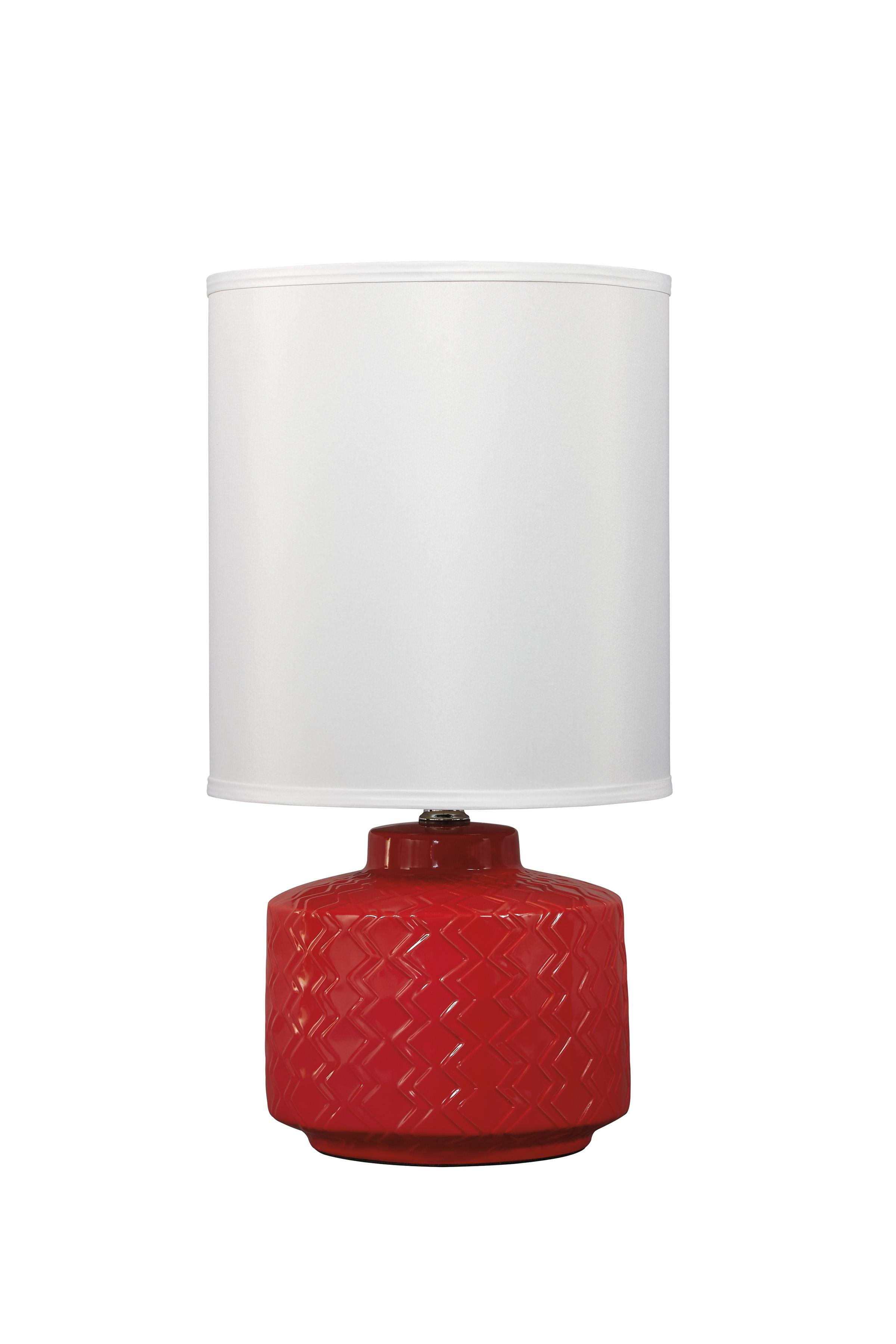 Signature Design by Ashley Lamps - Contemporary Ceramic Table Lamp  - Item Number: L800034