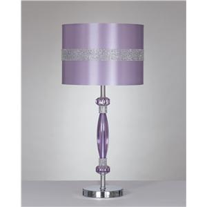 Ashley Signature Design Lamps - Contemporary Nyssa Metal Table Lamp