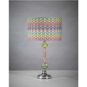 Benchcraft Lamps - Contemporary Starla Acrylic Table Lamp