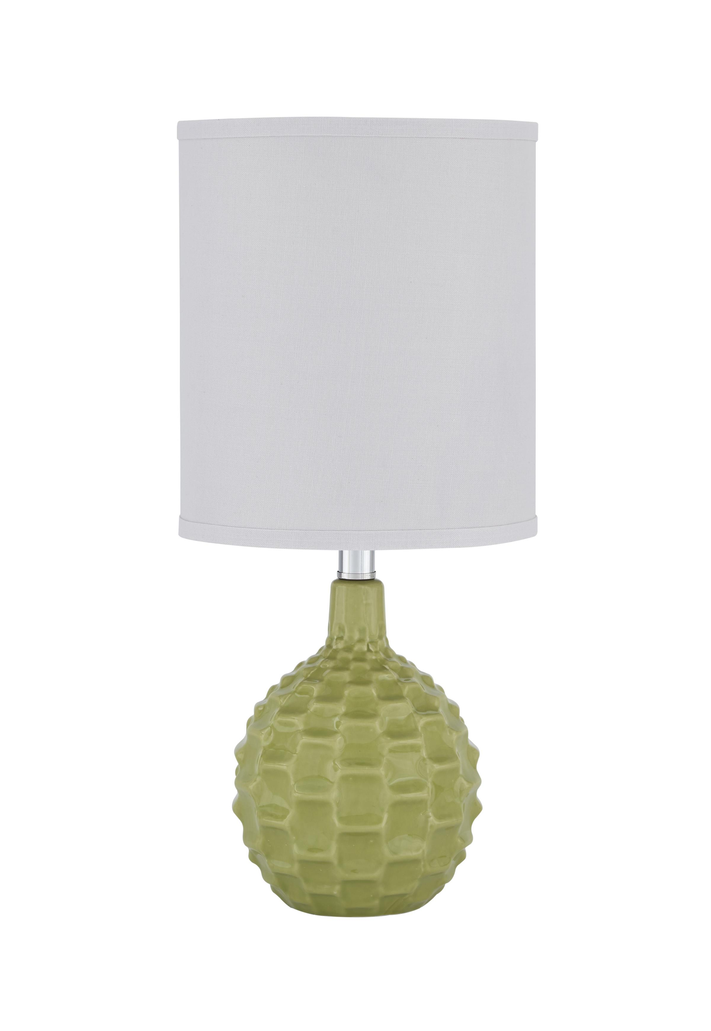 Signature Design by Ashley Lamps - Contemporary Sondre Green Ceramic Table Lamp - Item Number: L857424