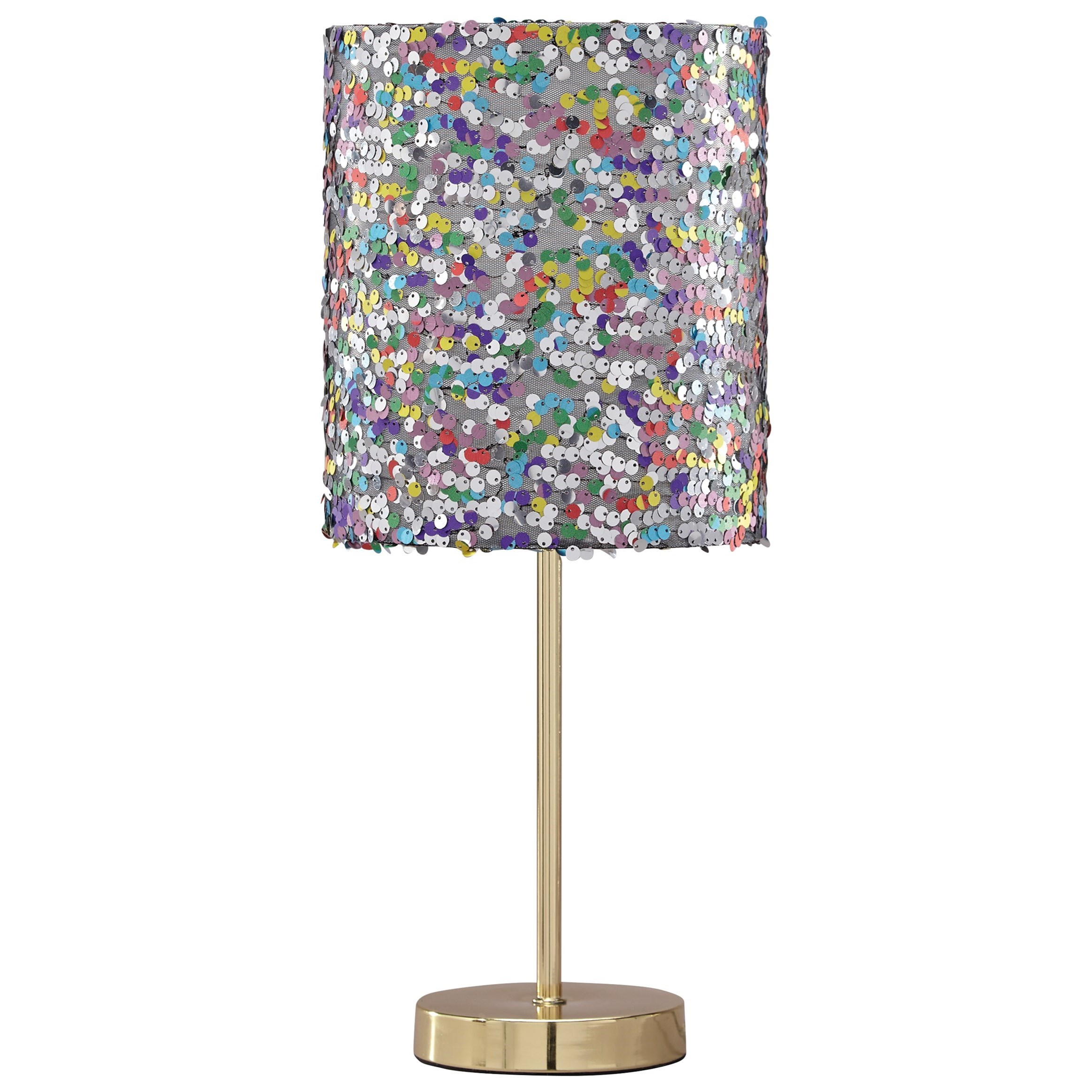 Lamps - Contemporary Maddy Multi Metal Table Lamp by Ashley (Signature Design) at Johnny Janosik