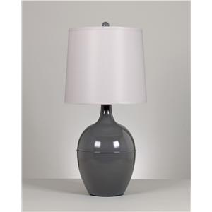 Signature Design by Ashley Lamps - Metro Modern Set of 2 Ryesen Metal Table Lamps