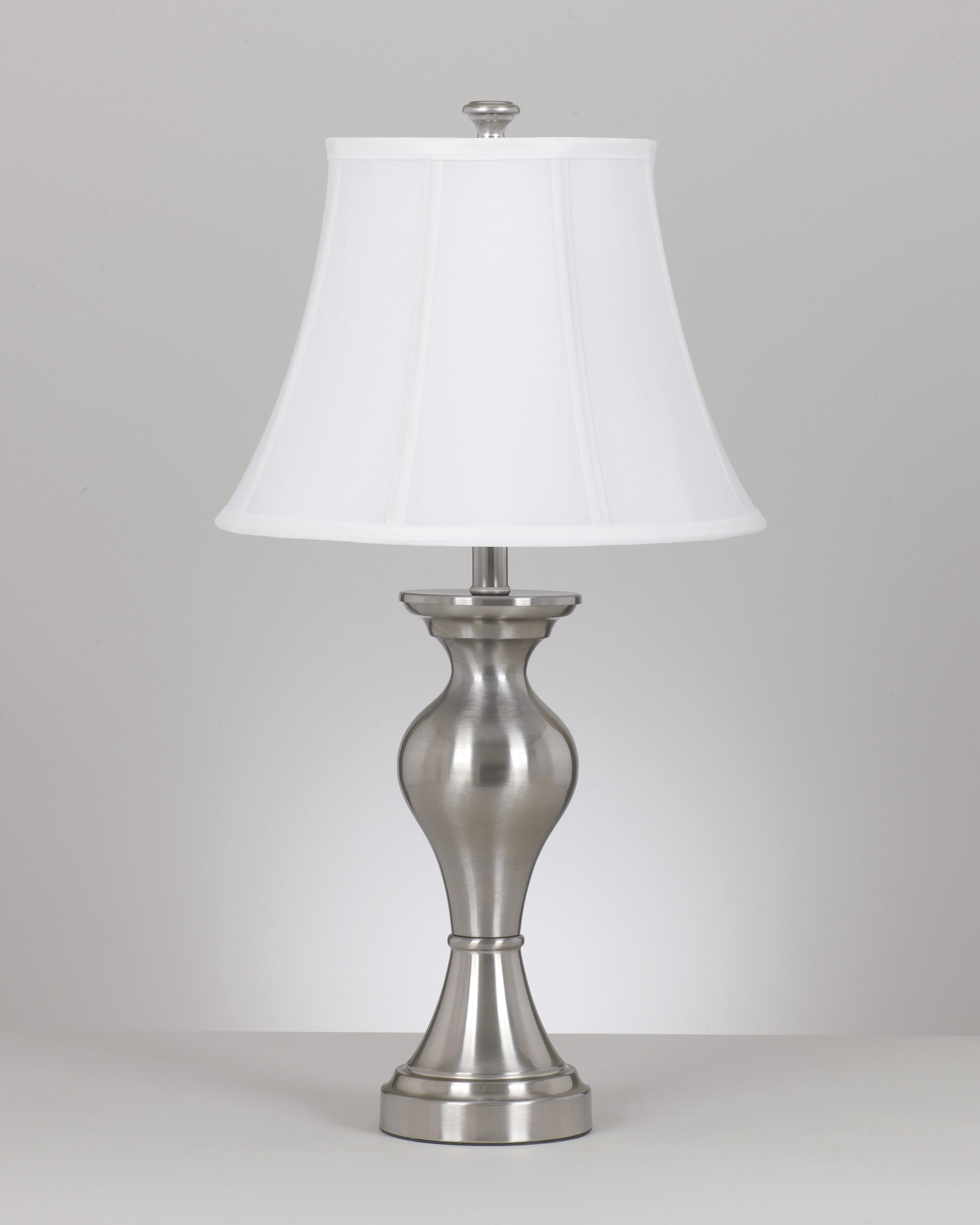 Signature Design by Ashley Lamps - Vintage Style Set of 2 Rishona Metal Table Lamps - Item Number: L204124