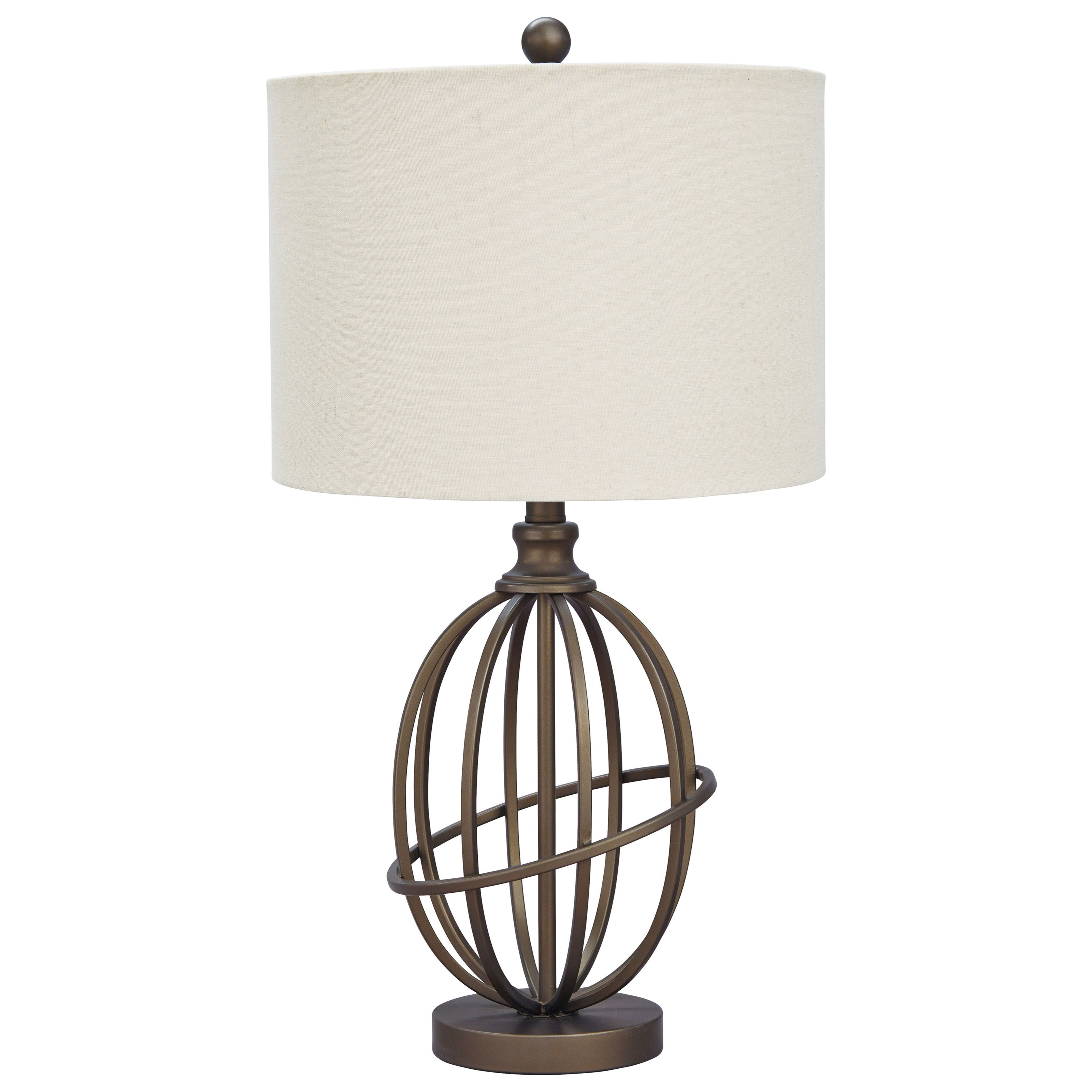 Signature Design By Ashley Lamps Vintage Style Manase Bronze