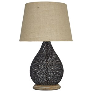 Ashley Signature Design Lamps - Vintage Style Aimon Bronze Finish Table Lamp