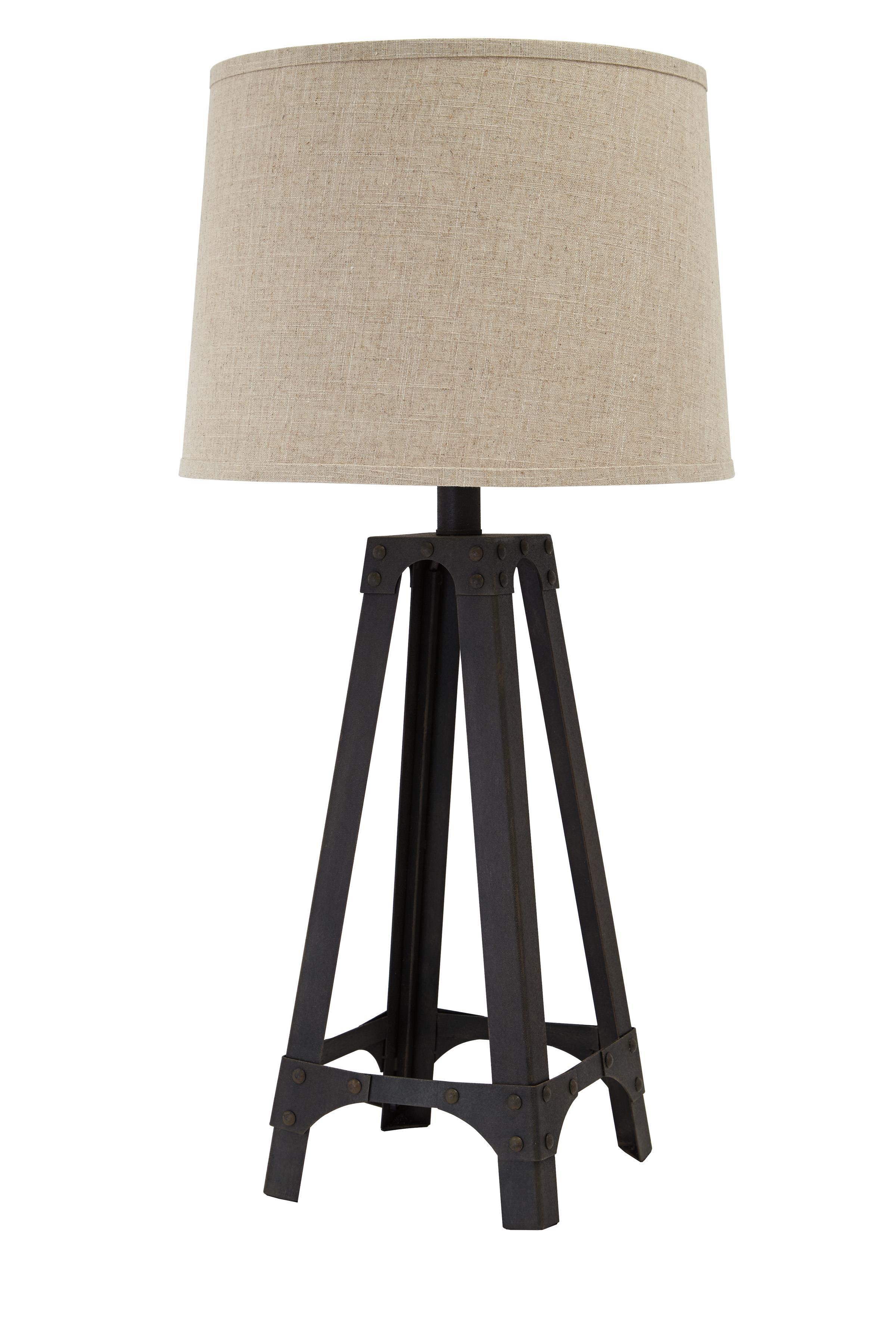 Signature Design By Ashley Lamps Vintage Style L207984 Metal Table