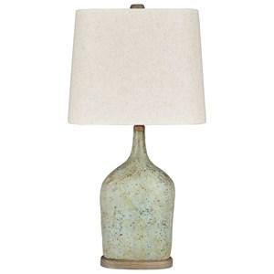 Set of 2 Maribeth Sage Paper Table Lamps
