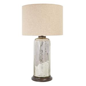 Signature Design by Ashley Lamps - Vintage Style Sharlie Glass Table Lamp