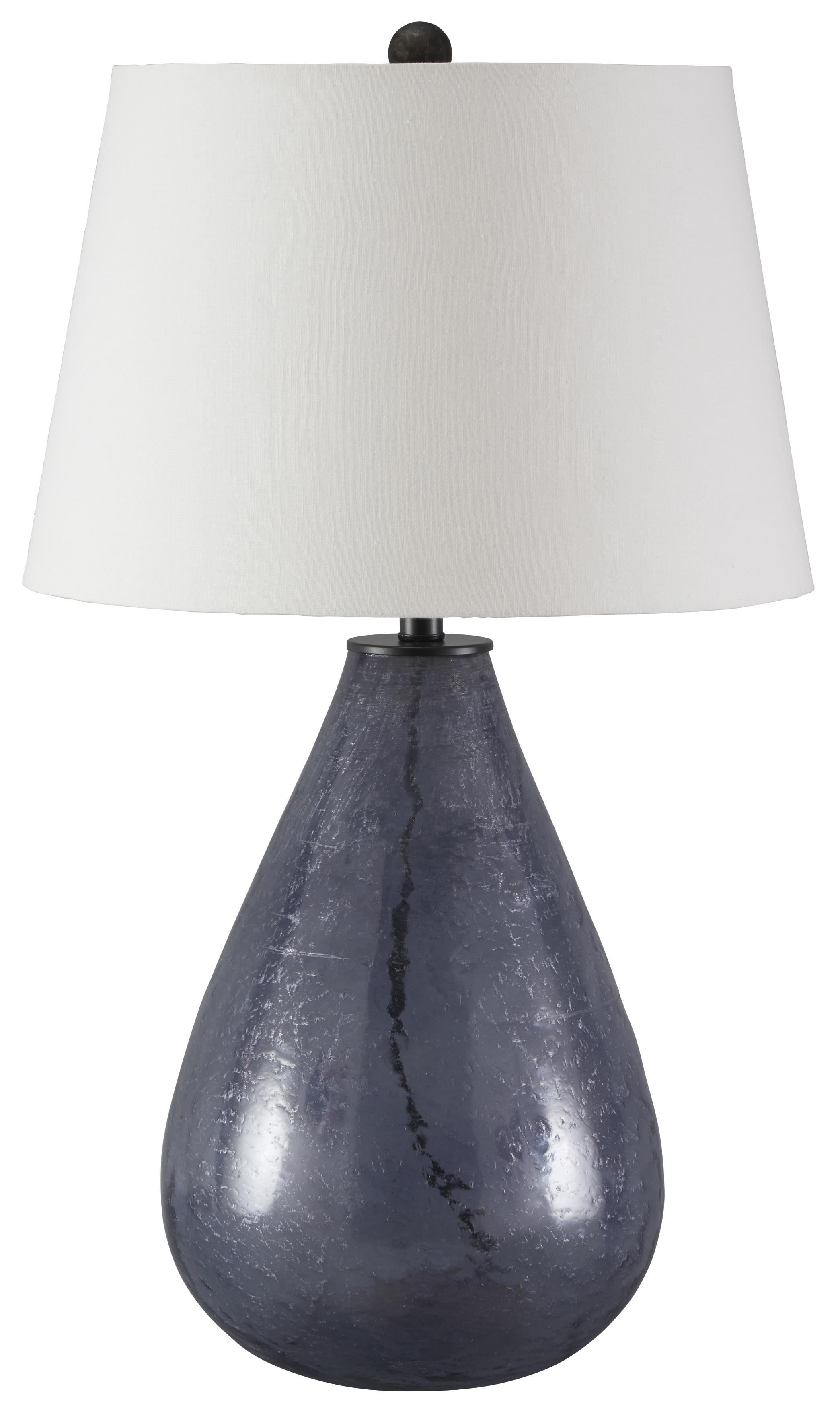 Signature Design by Ashley Lamps - Vintage Style Taber Glass Table Lamp - Item Number: L430284