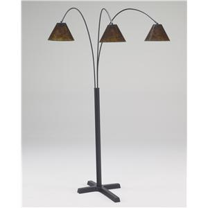 Ashley Signature Design Lamps - Vintage Style Sharde Metal Arc Lamp