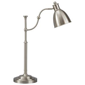 Signature Design by Ashley Lamps - Vintage Casual Shavaun Metal Desk Lamp