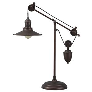 Signature Design by Ashley Lamps - Vintage Style Kylen Metal Desk Lamp